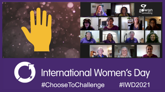 Choose to Challenge for International Women's Day